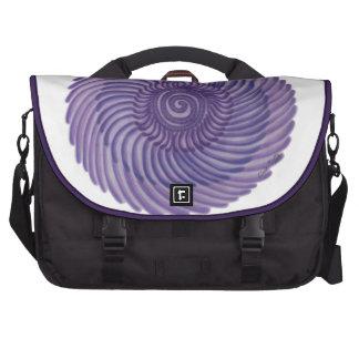 7th Chakra Healing Art: #1 Laptop Messenger Bag