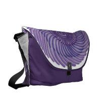 7th Chakra Healing Art: #1 Messenger Bag