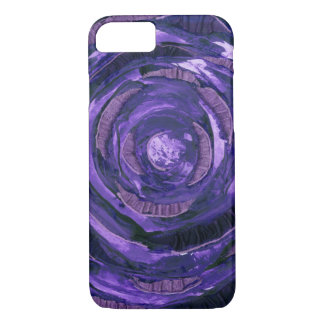 7th-Crown Chakra Clearing Artwork #2 iPhone 8/7 Case