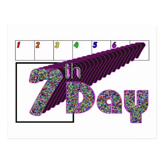 7th Day Postcard
