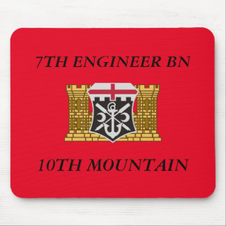 7TH ENGINEER BATTALION 10TH MOUNTAIN MOUSEPAD