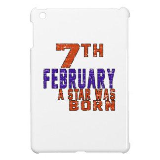 7th February a star was born iPad Mini Covers