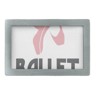 7th February - Ballet Day - Appreciation Day Rectangular Belt Buckle