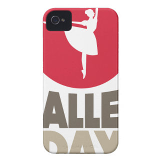 7th February - Ballet Day Case-Mate iPhone 4 Case