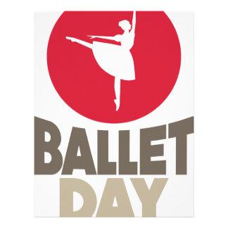 7th February - Ballet Day Letterhead
