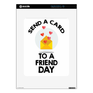 7th February - Send a Card to a Friend Day iPad Decals
