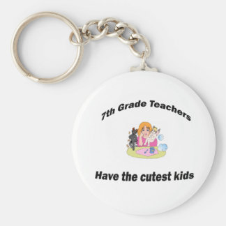 7th  grade and kids keychain