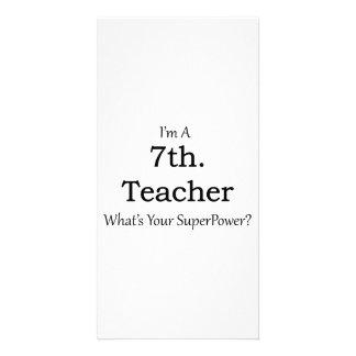 7th. Grade Teacher Card
