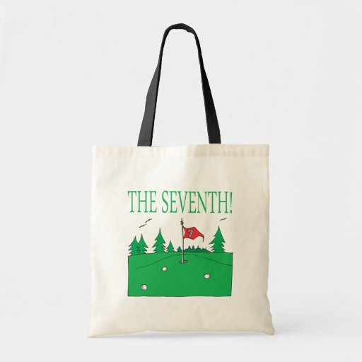7th Hole Canvas Bags