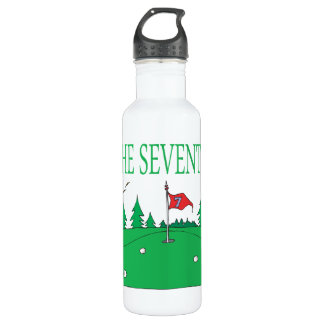 7th Hole Stainless Steel Water Bottle