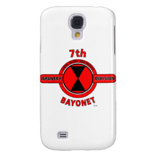 "7TH INFANTRY DIVISION ""BAYONET DIVISION"" SAMSUNG S4 CASE"