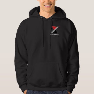 """7th Infantry Division """"Hourglass Division"""" Hoodie"""