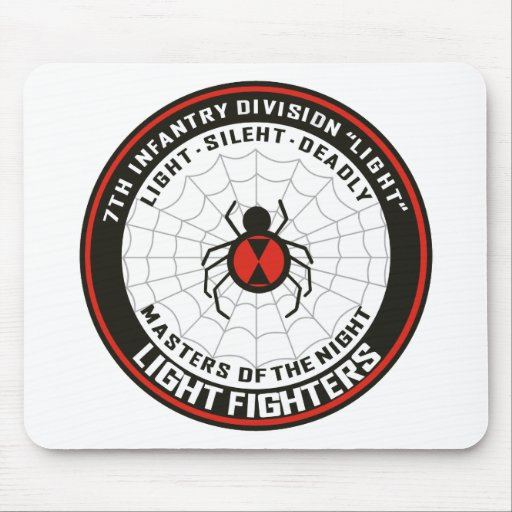 7th Infantry Division Light Mouse Pads Zazzle