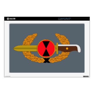 """7th Infantry Division - Order of the Bayonet Decals For 17"""" Laptops"""