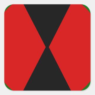 7th Infantry division Shoulder Sleve insignia Square Sticker