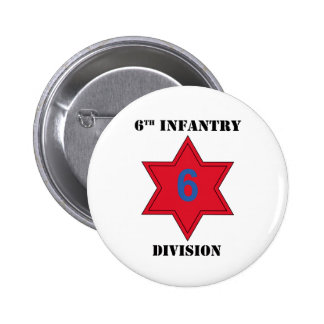7th Infantry Division w/Text Pinback Button