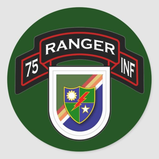7th Infantry Regiment - Rangers Classic Round Sticker