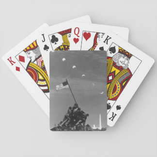 7th March 1970:  Ten separate exposures Playing Cards