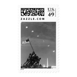 7th March 1970:  Ten separate exposures Postage Stamp