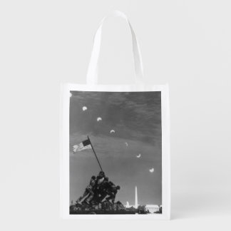 7th March 1970:  Ten separate exposures Reusable Grocery Bag
