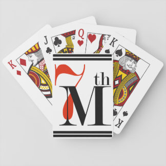 7th Material tramp Playing Cards