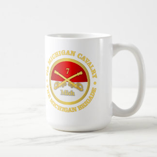 7th Michigan Cavalry (rd) Coffee Mug