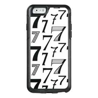7th or 70th Birthday or Anniversary Seven Pattern OtterBox iPhone 6/6s Case