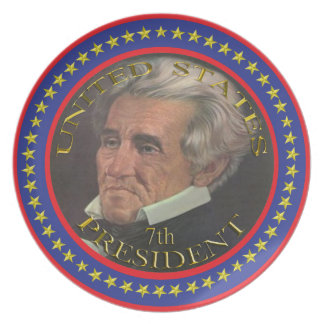 7th President of the United States plate