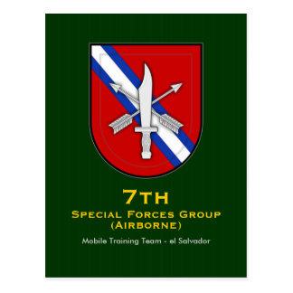 7th SFG-A 13 MTT Postcard