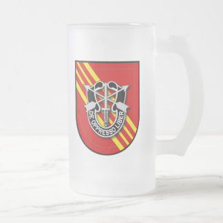 7th SFG-A 2 RVN Frosted Glass Beer Mug