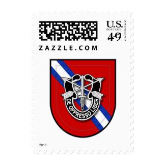 7th SFG-A 4 el Sal Postage Stamp