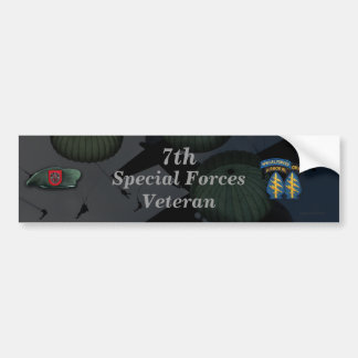 7th special forces fort bragg Bumper Sticker