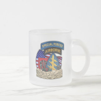 7th Special forces green berets frosty beer mug