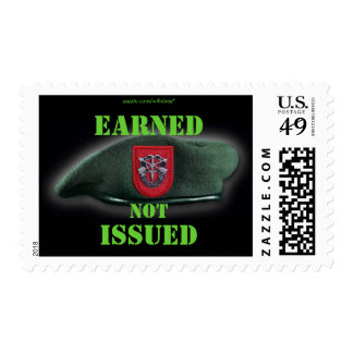 7th Special Forces green Berets Postage stamps