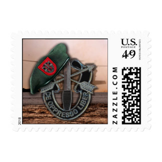 7th Special Forces Green Berets vets Postage Stamp