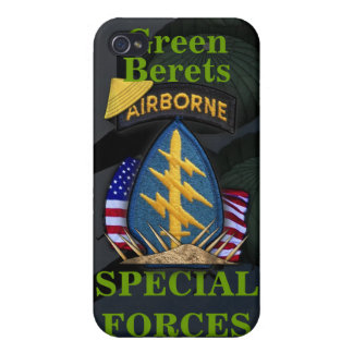 7th special forces green berets vietnam cas cover for iPhone 4
