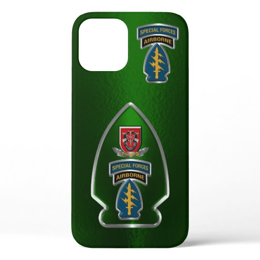 7th Special Forces Group Airborne Customized  iPhone 12 Case
