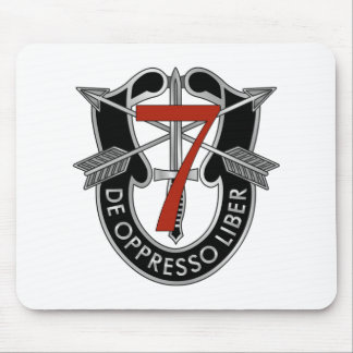 7th Special Forces Group Crest Mouse Pad