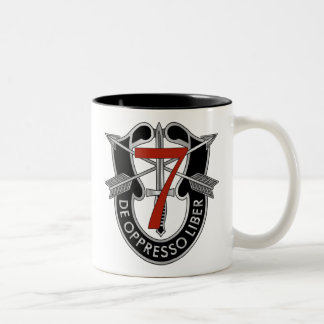 7th Special Forces Group Crest Two-Tone Coffee Mug