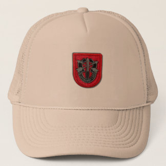 7th special forces group flash veterans Hat
