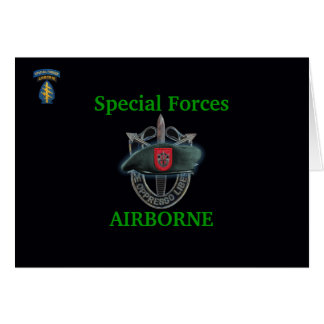 7th special forces group iraq gulf war vets Card