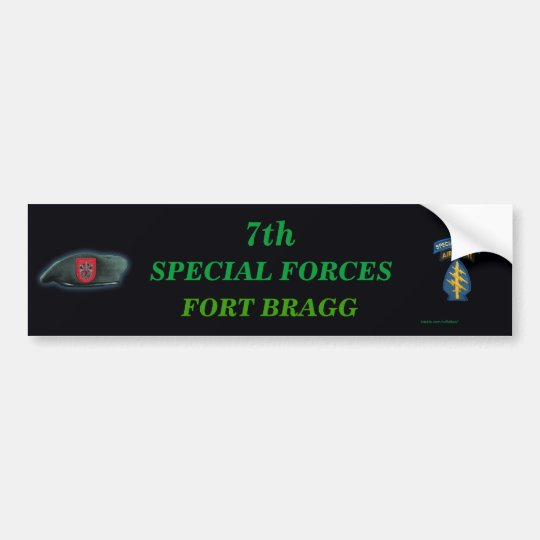 7th special forces group iraq son Bumper Sticker