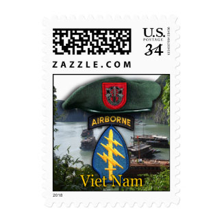 7th Special Forces SFG Green Berets Postage Stamps