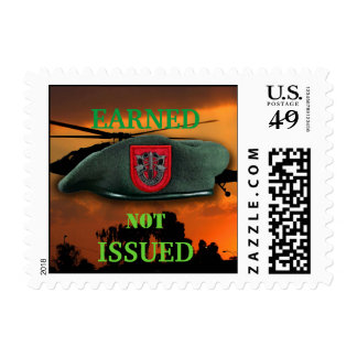 7th Special Forces veterans Green Berets SF SOF Postage