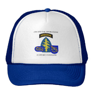7TH SPECIAL OPERATIONS SUPPORT COMMAND HAT