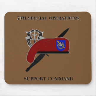 7TH SPECIAL OPERATIONS SUPPORT COMMAND MOUSEPAD