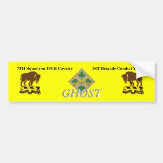 7TH Squadron 1ST BCT 4TH Inf Bumper Sticker