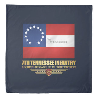 7th Tennessee Infantry Duvet Cover