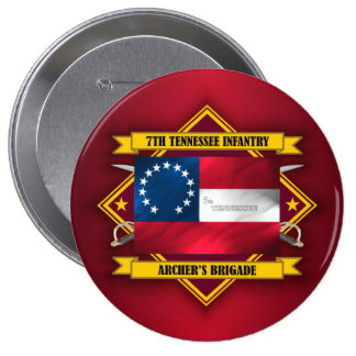 7th Tennessee Infantry (v5) Button