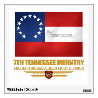 7th Tennessee Infantry Wall Sticker